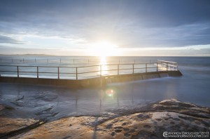 Cronulla Sunrise at the Rock pool