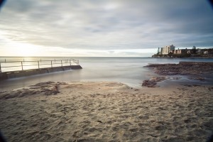 Cronulla Sunrise at the Rock pool, Lee big stopper and CPL
