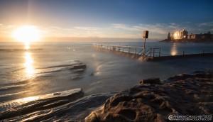 Cronulla Rock pool Sunrise