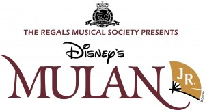 The Regals Musical Society - Disney Mulan Jr -logo - Andrew Croucher Photography