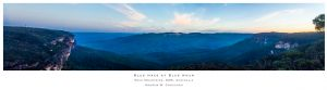 Blue haze at Blue hour - Blue Mountains - Andrew Croucher Photography.jpg