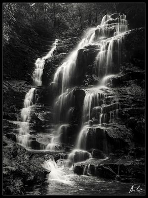 Blue mountains- Sylvia falls - Be Water - Andrew Croucher Photography - Bronze Award.jpg