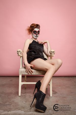 Day of the dead - Dia de Muertos - Photos- Mystique Rose - Andrew Croucher Photography 1.jpg
