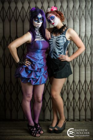 Day of the Dead photos - Ashlelectric X- Ashleigh-Maree Connell- Andrew Croucher Photography 1.jpg