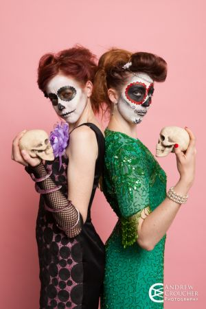 Day of the dead - Dia de Muertos - Mystique Rose and Nadine Groat - Andrew Croucher Photography 2.jpg