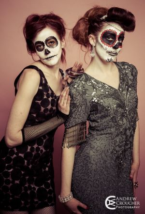 Day of the dead - Dia de Muertos - Mystique Rose and Nadine Groat - Andrew Croucher Photography 3.jpg